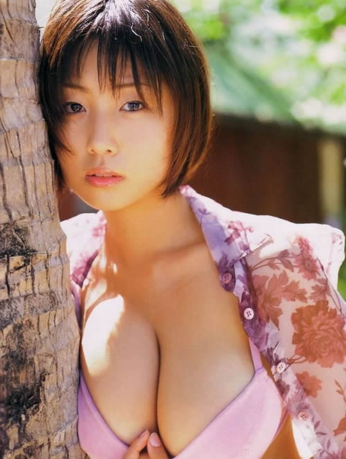 30 photos of 3 famous pin-up girls, Eiko Koike, MEGUMI and Waka Inoue